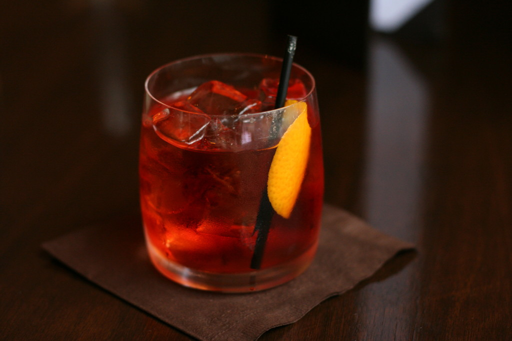 Negroni is one of the most famous Italian drinks and perfect for Aperitivo.